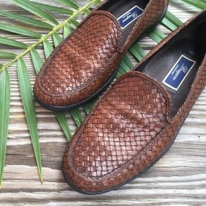 Bragano by Cole Haan Woven Leather Driving